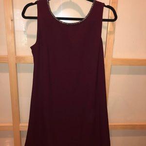 Sequined Knee Length Dress